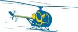 Svenska Aero-Bilder AB logotyp