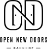Open New Doors Bahnhof logotyp