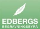 Edbergs begravningsbyrå logotyp