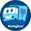 Hemglass i Sverige logotyp