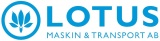 Lotus Maskin & Transport AB logotyp