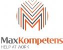 Maxkompetens logotyp