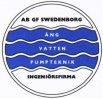 AB G.F. Swedenborg Ingenjörsfirma logotyp