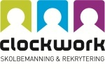 ClockworkSkolbemanning och Rekrytering logotyp