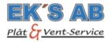 EKs AB Plåt & Vent-Service logotyp