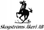 Skogstöms åkeri logotyp