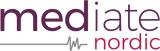 Mediate Nordic logotyp