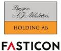 Byggmästare AJ Ahlström logotyp