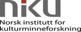 Norsk institutt for kulturminneforskning - NIKU logotyp
