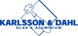 Karlsson & Dahl Glasmästeri AB logotyp