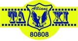 Taxi Allians v AB logotyp