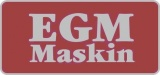 EGM Maskin AB logotyp