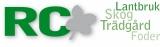 RC Maskiner AB logotyp
