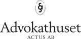 ADVOKATHUSET ACTUS, AB logotyp