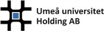Umeå universitet Holding logotyp