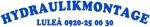 Hydraulikmontage i Luleå logotyp
