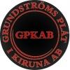 Grundströms Plåt i Kiruna AB logotyp