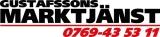 Gustafssons Marktjänst AB logotyp