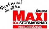 Maxi ICA stormarknad Boglundsängen logotyp