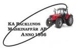K.A. Backlunds Maskinaffär AB logotyp