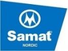 Samat Nordic logotyp
