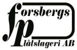 Forsbergs Plåtslageri i Östhammar AB logotyp