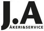J.A Åkeri & Service AB logotyp