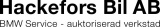 Hackefors Bil AB logotyp