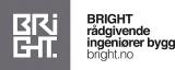 Bright rådgivende ingeniører bygg as logotyp