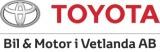 Bil & Motor i Vetlanda AB logotyp