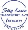 STIG LOSEN TRANSPORT AS logotyp