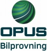 Opus Bilprovning AB logotyp