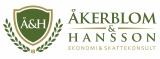 Åkerblom & Hansson Ekonomi & Skattekonsult AB logotyp