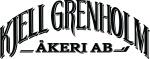 Kjell Grenholm åkeri logotyp