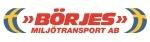 Börjes Miljötransporter logotyp
