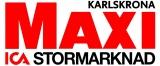 Maxi ICA Stormarknad Karlskrona logotyp