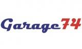 Garage74 logotyp