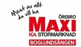 Maxi ICA stormarknad Boglundsängen Örebro logotyp