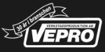 Vepro Verkstadsproduktion logotyp