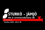 Sturkö Jämjö Rör & Värmeinstallationer AB logotyp