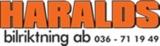 Haraldsbilriktning Ab logotyp