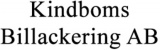 Kindboms Billackering AB logotyp