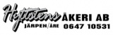 Hyttstens Åkeri i Järpen AB logotyp