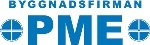 Byggnadsfirman PME logotyp