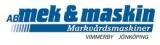 AB Mek & Maskin Markvårdsmaskiner logotyp