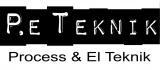 P.E Teknik Jämtland AB logotyp