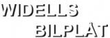 Widells Bilplåt logotyp