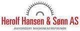 Herolf Hansen & sønn as logotyp