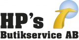 HP¨s Butikservice AB logotyp
