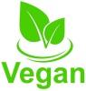Vegan cafe logotyp